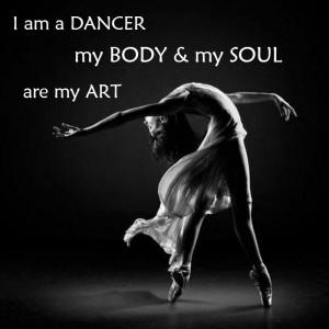 am a dancer quotes