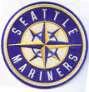 Seattle Mariners Logo Patch