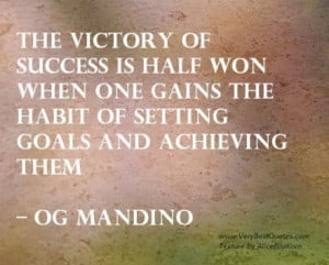 Goals & Goal Setting Quotes