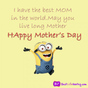 Mother's day minions quote facebook pictures