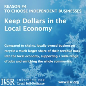 Top 10 Reasons to Support Locally Owned Businesses