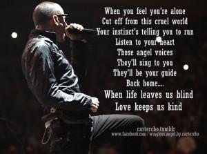 tags song lyrics linkin park chester bennington quotes inspiration lp ...