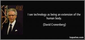 More David Cronenberg Quotes