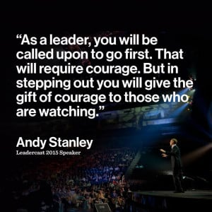 Leadercast 2015 stanley quote