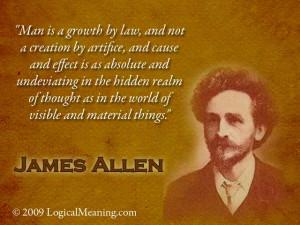 James Allen Mastermind quote