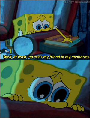 Best Friends Spongebob And Patrick Quotes