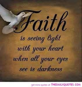 Key to Having Faith Quotes