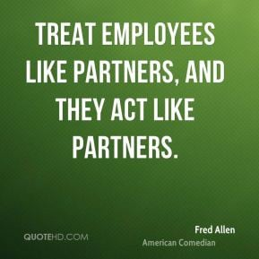 treat employees like they make a difference and they will