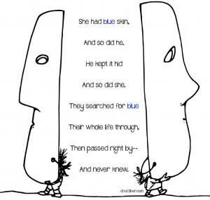 Shel Silverstein masks poetry awesome