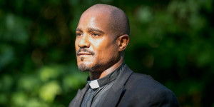Gene Page/AMC Seth Gilliam will play Father Gabriel this season on ...