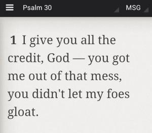 Tell it, Sister! Praise God!