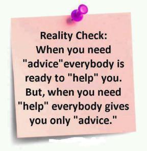 Reality check: when you need