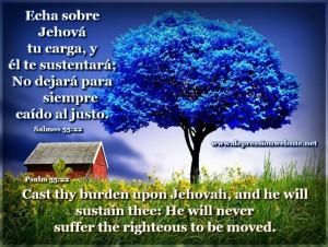 Psalms 55 22 motivational bible verses