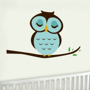 Owl Wall Graphic 19.95