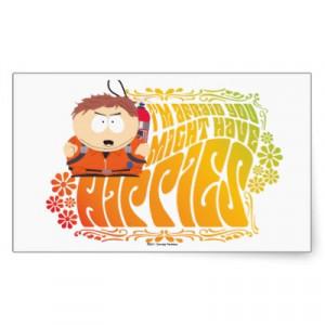 Cartman Hippies