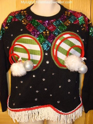 Christmas Sweater Pictures - Funny Outrageous Tacky Christmas Sweaters ...