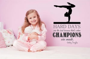 Viewing Gallery For - Inspirational Sports Quotes For Girls Gymnastics