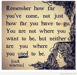 Inspirational instagram quote