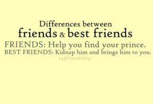 Friends vs Best Friends.... @Rachel Farlow, im in my tower where's my ...