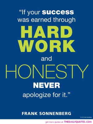 Hard Work Quotes Sayings