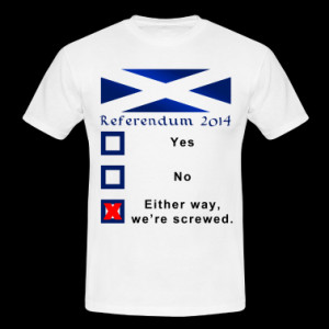 Referendum 2014 Funny Ballot Design T-Shirt