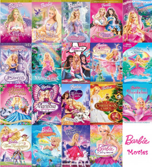 Barbie Movies Barbie Movies Collection (COMPLETE)