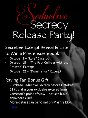 SEDUCTIVE SECRECY by Marni Mann (@MarniMann) Pre-Release Party! # ...