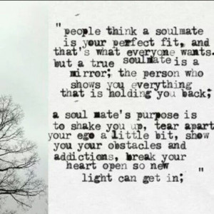 Soulmate - quote