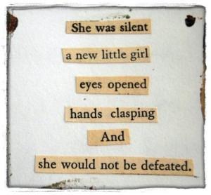 found poem, poem, text, tricia scott, words