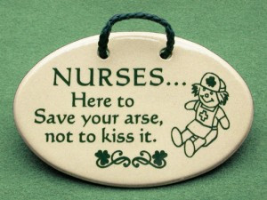 Special Irish Nurse plaque, perfect for someone who is Irish or ...