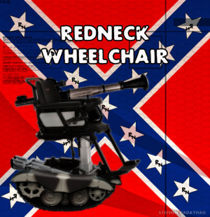Redneck Wheelchair by stephenpadayhag