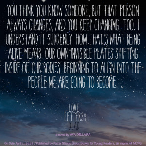 love letters to the dead letters quotes quotesgram 1486