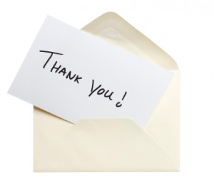 The humble handwritten thank you note can boost your company's ...