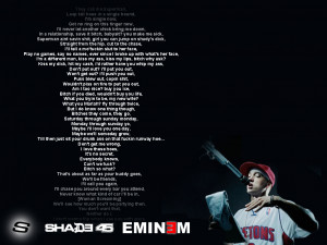 Eminem Quote Wallpapers