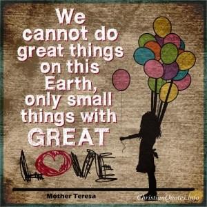 Mother Teresa Quote -