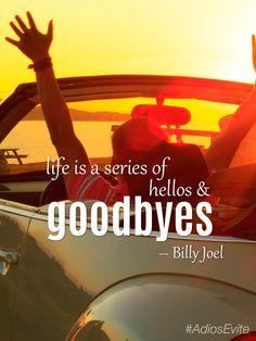 ... Billy Joel #inspirational #quote #music #lyrics #billyjoel #AdiosEvite