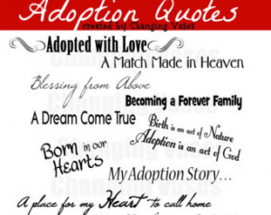 Quotes Words Phrases Clip art Clipart Fonts Scrapbook Adoption ...
