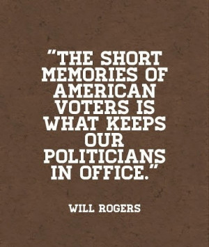 will rogers quotes on politicians