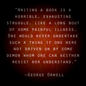 george orwell why i write essay