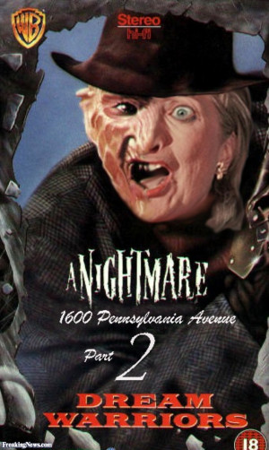 Freddy Krueger + Hillary Clinton - pictures