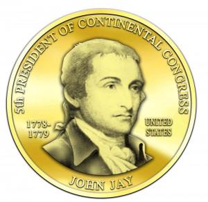 John Jay Medallion - Third President of the Continental Congress ...