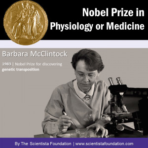 Nobel Laureate Barbara McClintock