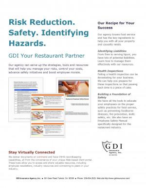 Restaurant Insurance Savings Program