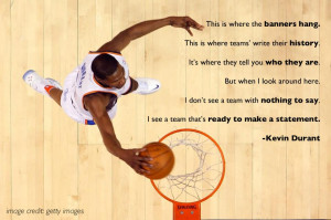 Kevin Durant Quotes About Basketball
