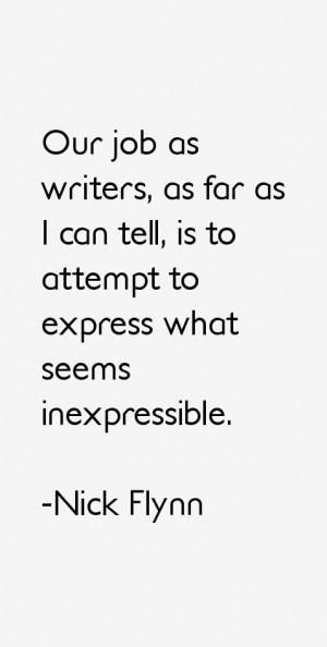 Nick Flynn Quotes & Sayings
