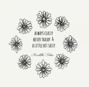 Meredith Foster | Quote