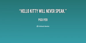 Hello Kitty Quotes Preview quote