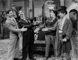 Details about MARX BROTHERS HANDSHAKE CONGRATULATE MOVIE PHOTO GROUCHO ...