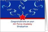 Air Force Academy Graduation Greeting Card - Patriotic Card by ...