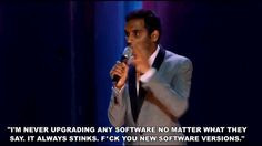 Showing Gallery For Aziz Ansari Stand Up Quotes